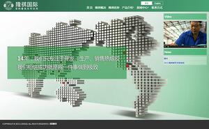 隆祺鞋材 企业官网建设 微站建设