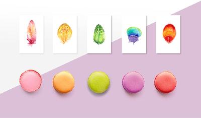 一点甜品VI设计